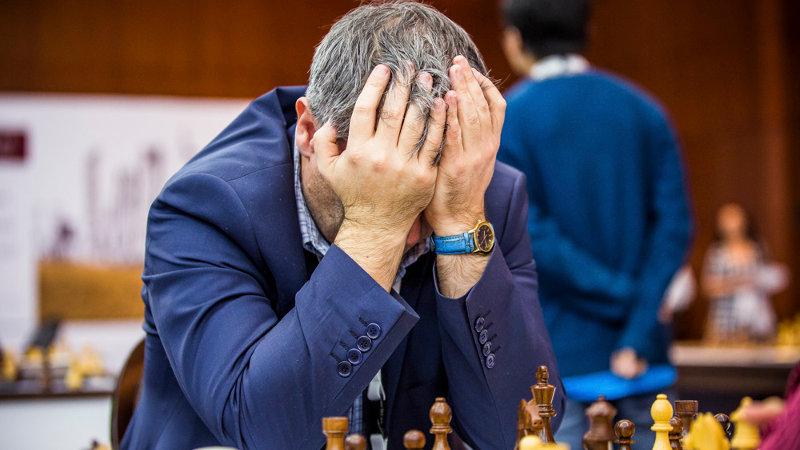 Nervios en el juego de ajedrez