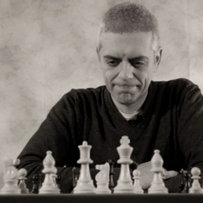 Luca Valsecchi, estudiante del Chess Teacher GM Igor Smirnov