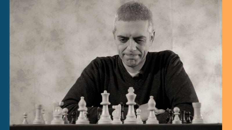 Luca Valsecchi, estudiante del Chess Teacher GM Igor Smirnov