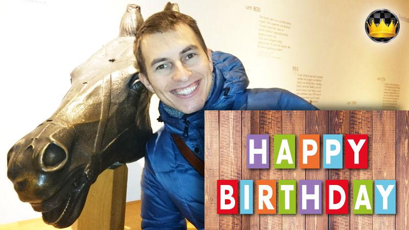 Cumpleaños del GM Igor Smirnov