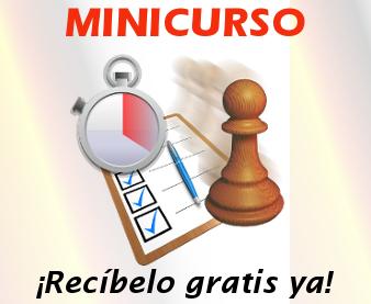 Minicurso Plan de entrenamiento para mejorar tu ajedrez rápidamente