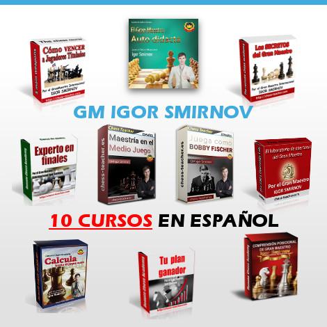 Colección completa del GM Igor Smirnov