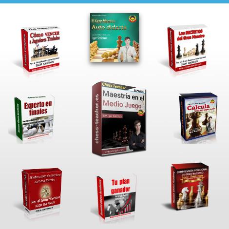 Colección completa de cursos del GM Igor Smirnov