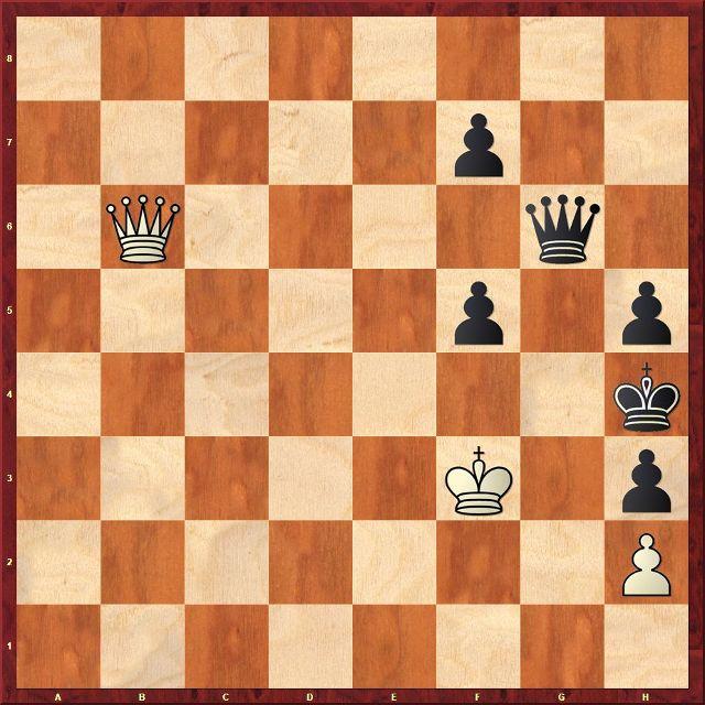 Ejercicio de ajedrez - GM Igor Smirnov