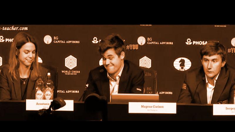 Magnus Carlsen y Sergey Karjakin, jugadores nativos de la era de las computadoras, decidiendo quién es el Campeón Mundial de ajedrez