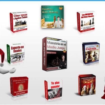 Promoción de cursos de ajedrez del GM Igor Smirnov en Navidad