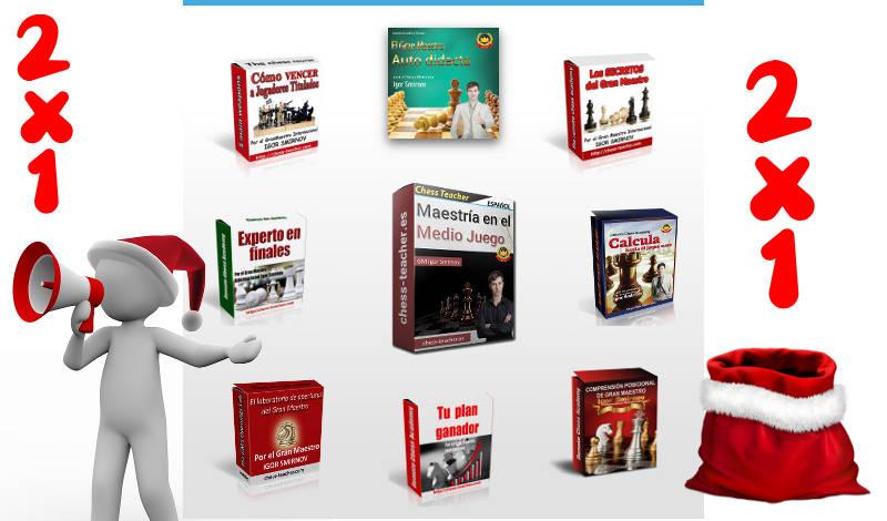 Promoción de cursos del GM Igor Smirnov en navidad