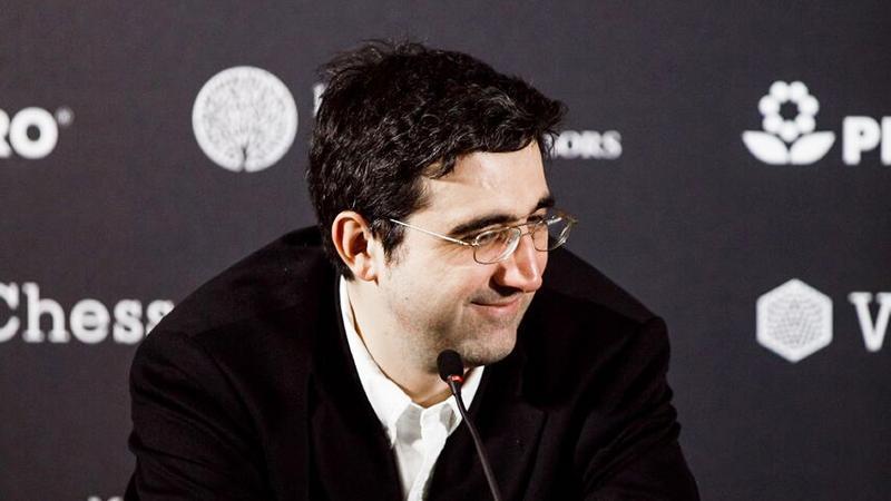 Vladimir Kramnik en el Torneo de Candidatos 2018 para el Campeonato Mundial