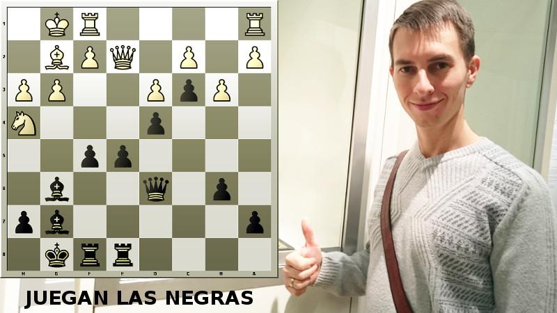 Fabiano Caruana derrotado en un blitz por el GM Igor Smirnov