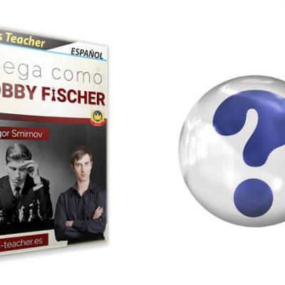 """Preguntas sobre el curso """"Juega como Fischer"""""""
