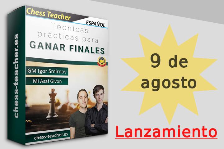 """Lanzamiento del curso """"Técnicas prácticas para ganar finales"""" de la Academia de Ajedrez a Distancia"""