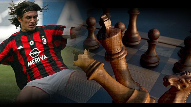 Técnica defensiva del capitán Maldini