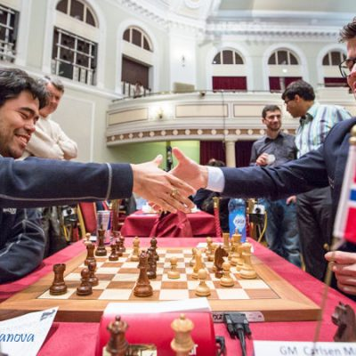 Hikaru Nakamura contra Magnus Carlsen