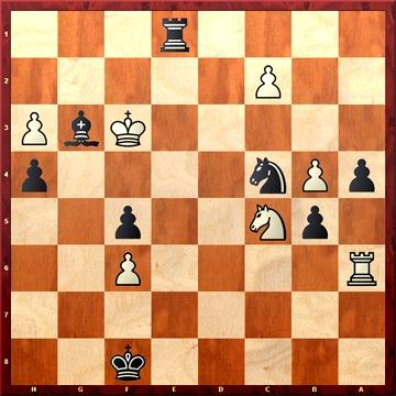 Ejercicio de ataque en ajedrez
