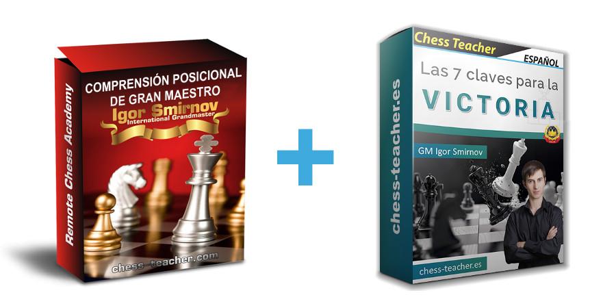 Combo de cursos Comprensión posicional de Gran Maestro y Las 7 claves para la victoria
