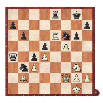 Posición de partida Botvinnik - Capablanca