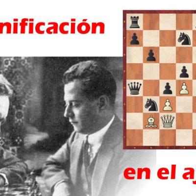 La planificación en el ajedrez (Ejemplo práctico)