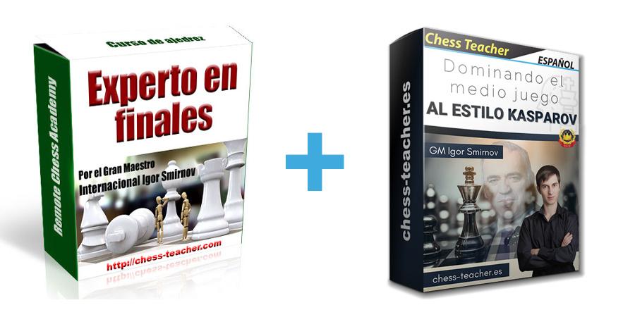 Oferta de cursos: Experto en finales y Dominando el medio juego al estilo Kasparov