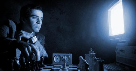 Garry Kasparov en la computadora