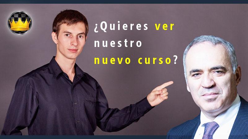 """Lanzamiento de nuevo curso """"Dominando el medio juego al estilo Kasparov"""""""