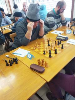 Estudiante del GM Igor Smirnov