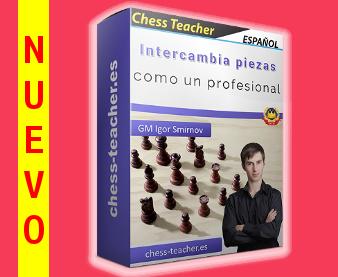 Nuevo curso de ajedrez: Intercambia piezas como un profesional de la Academia de Ajedrez a Distancia