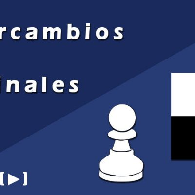 Intercambios en finales