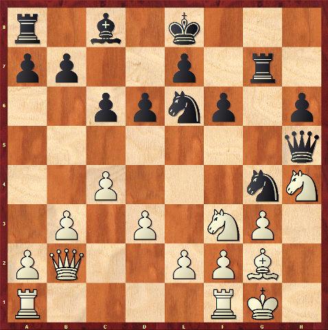 Posición de partida de ajedrez