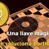 Una llave mágica en el ajedrez