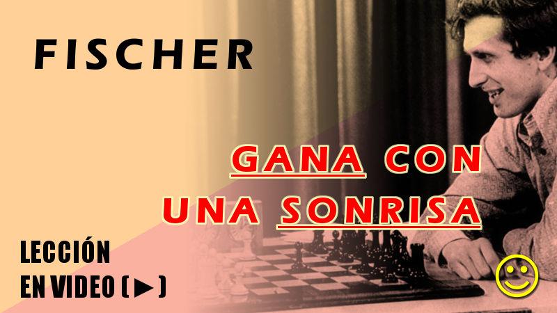 Fischer gana con una sonrisa