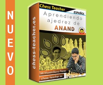 Nuevo curso de ajedrez: Aprendiendo ajedrez de Anand de la Academia de Ajedrez a Distancia
