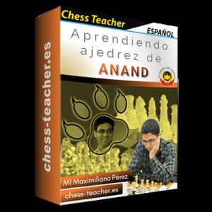 Aprendiendo ajedrez de Anand de la Academia de Ajedrez a Distancia