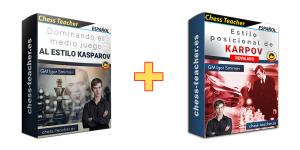 Oferta de cursos: Dominando el medio juego al estilo Kasparov + ¡Estilo posicional de Karpov revelado!