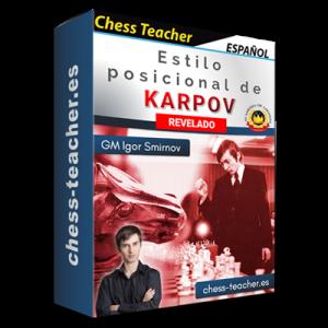 ¡Estilo posicional de Karpov revelado! de la Academia de Ajedrez a Distancia