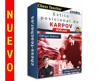 Nuevo curso de ajedrez: ¡Estilo posicional de Karpov revelado! de la Academia de Ajedrez a Distancia