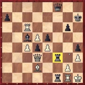 ...Tf3 en Karpov-Kasparov