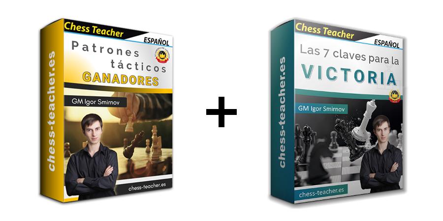 Oferta de cursos: Patrones tácticos ganadores + Las 7 claves para la victoria